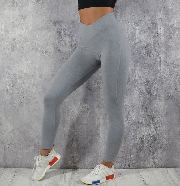 RapidWear - Scrunch Leggings (Grå)
