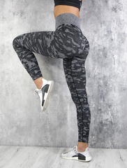RapidWear - Kamouflage Seamless Leggings (Charcoal)