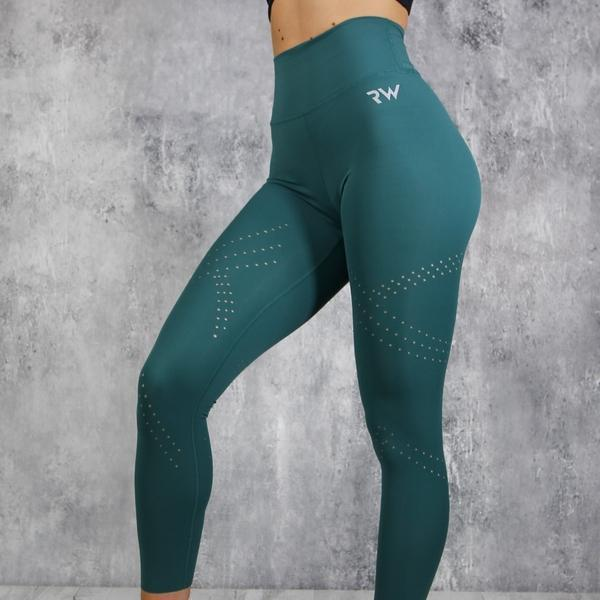 RapidWear - Detailed Preeminent Leggings (Grön)
