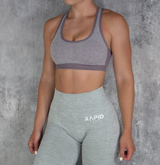 RapidWear - Empower Sports Bra (Lila)