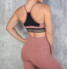 RapidWear - Energy Sports Bra (Dusty Rosa)