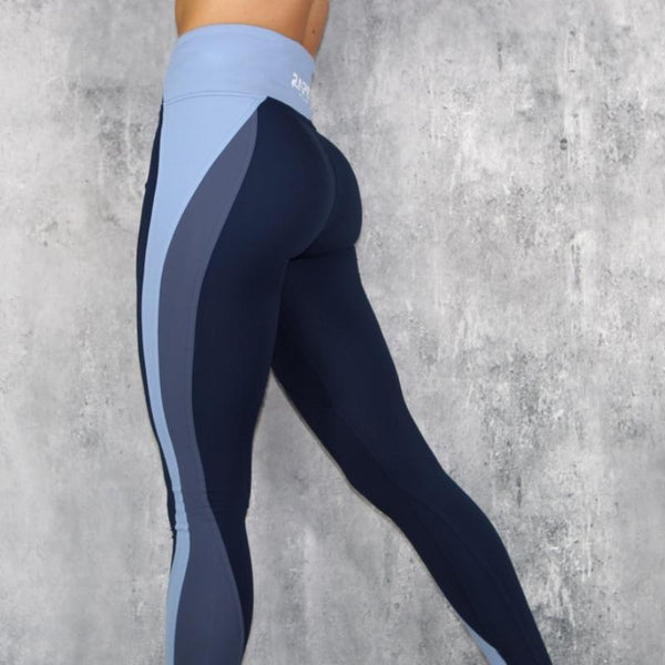RapidWear - Taya Leggings (Navy Blå)