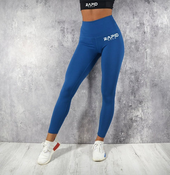RapidWear - High Impact Leggings (Safir Blå)