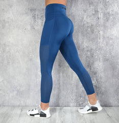RapidWear - Mesh Panel Leggings (Navy Blå)