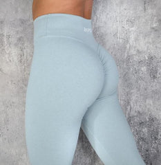 RapidWear - Scrunch+ Leggings ABS2B scrunch effekt (Ljusblå)