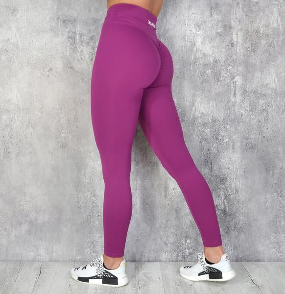 RapidWear - Scrunch+ Leggings (Violet)