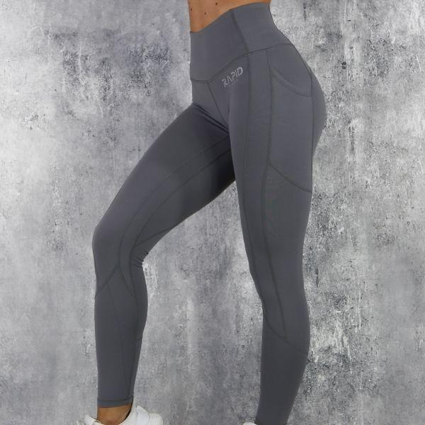 RapidWear - Sculpt Core Leggings (Grå)