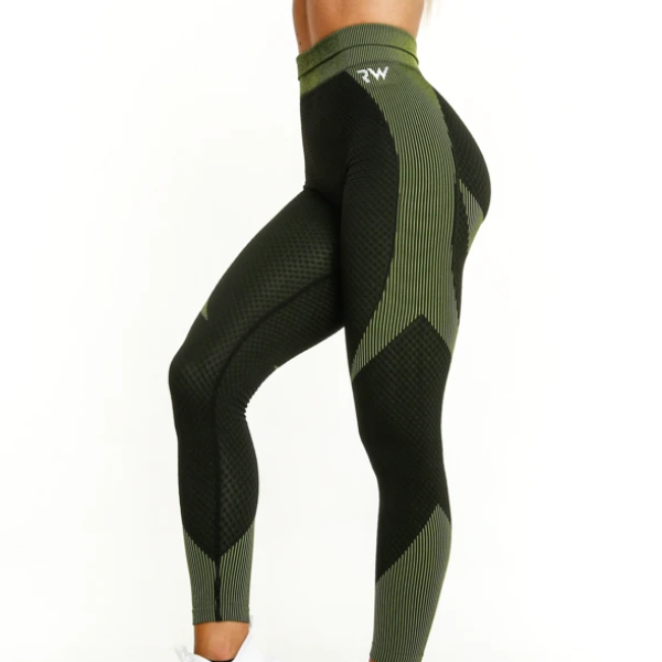 RapidWear - Sculpt Seamless Leggings (Svart)