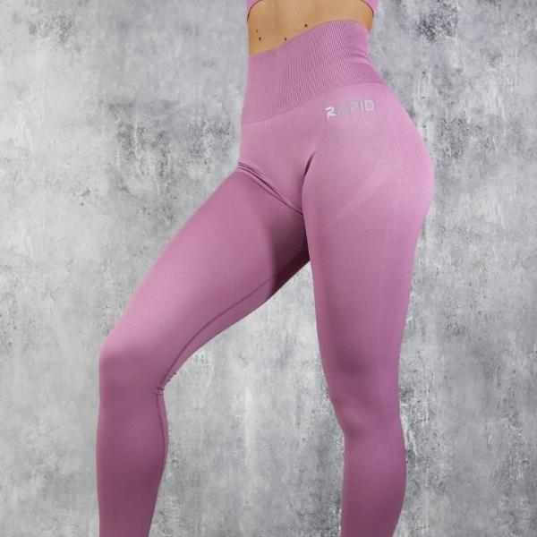 RapidWear - Seamless Comp Leggings (Ljusröd)