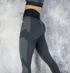 RapidWear - Seamless Force Leggings (Charcoal)