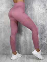 RapidWear - Seamless Support Leggings (Lyserød)