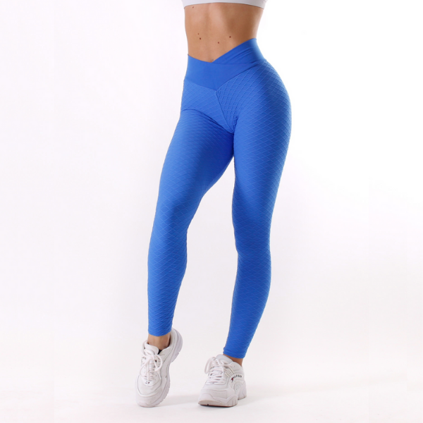 Rapidwear - Iconic V-Cut Scrunch Leggings (Blå)