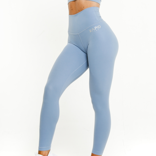 RapidWear - Ultimate Comfort Leggings (Ljusblå)