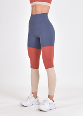 RapidWear - Spring Tight Leggings (Ruströd/Blå)