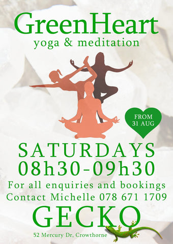 Gecko Jewellers & Mapatiza Mine - Yoga & Meditation