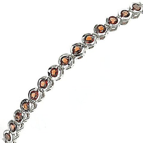 Round Gemstone Tennis Bracelet - gecko-jewellers-mapatiza-mine