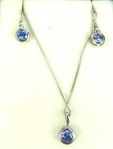 Tanzanite Set - gecko-jewellers-mapatiza-mine
