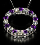 Amethyst Circle of Life - gecko-jewellers-mapatiza-mine