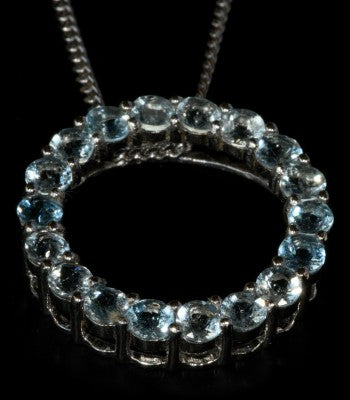 Aquamarine Circle of Life - gecko-jewellers-mapatiza-mine