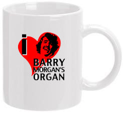 """I Heart Barry Morgan"" Mug"