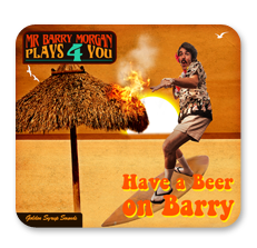 Have a Beer on Barry - Drink Coasters