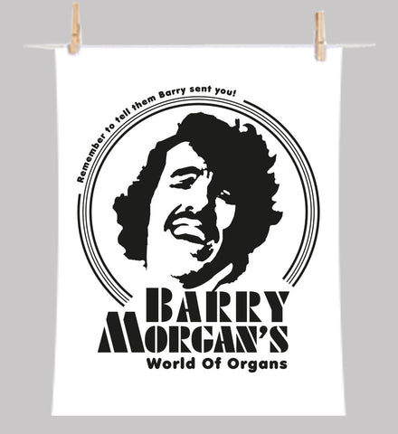 Mr Barry Morgan Tea-Towel (Signature Edition)