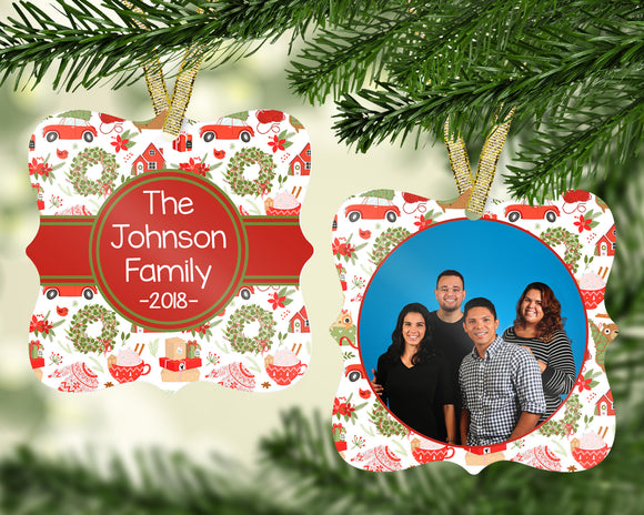Fun Family Christmas Ornament - PNG