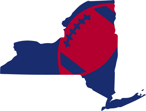 New York Football Design (NFL Colors) - PNG