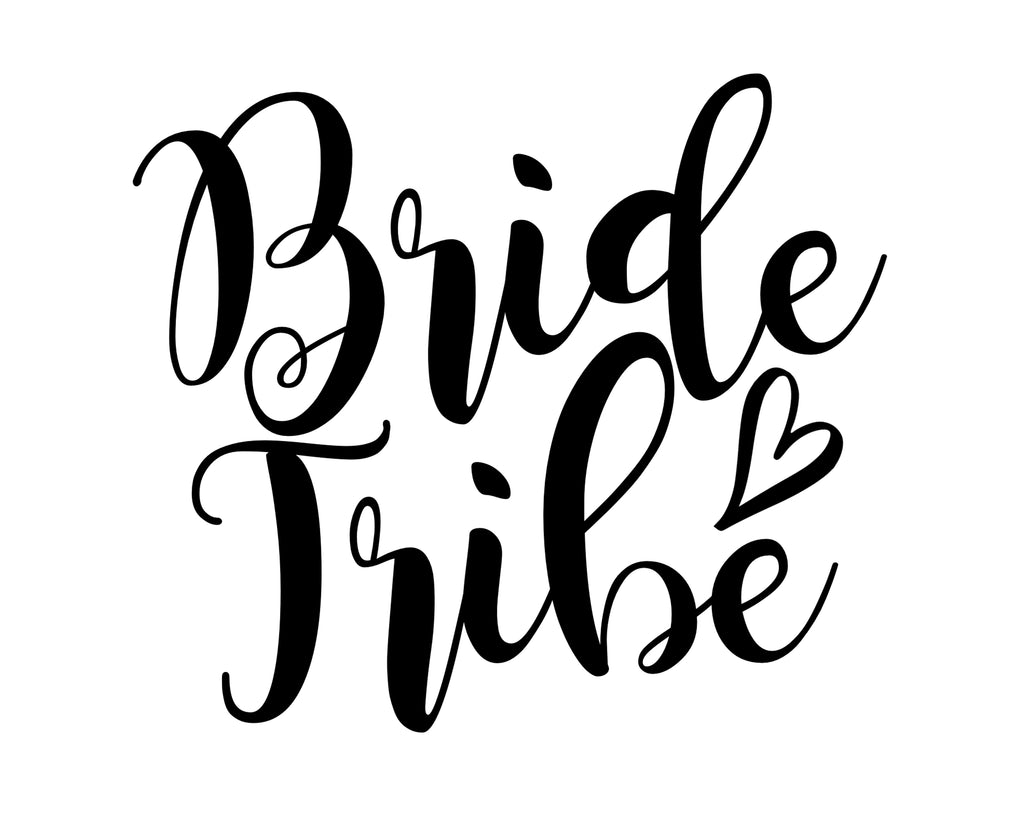 Bride Tribe - SVG, PNG, DXF