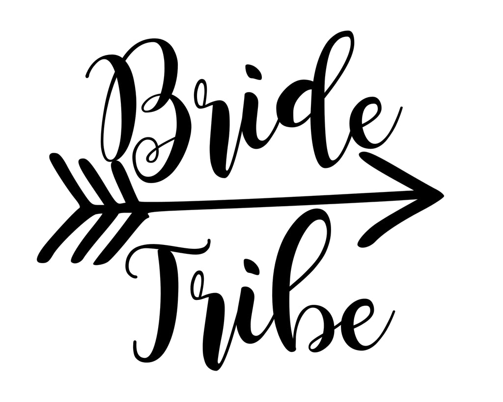 Bride Tribe (with arrow) - SVG, PNG, DXF