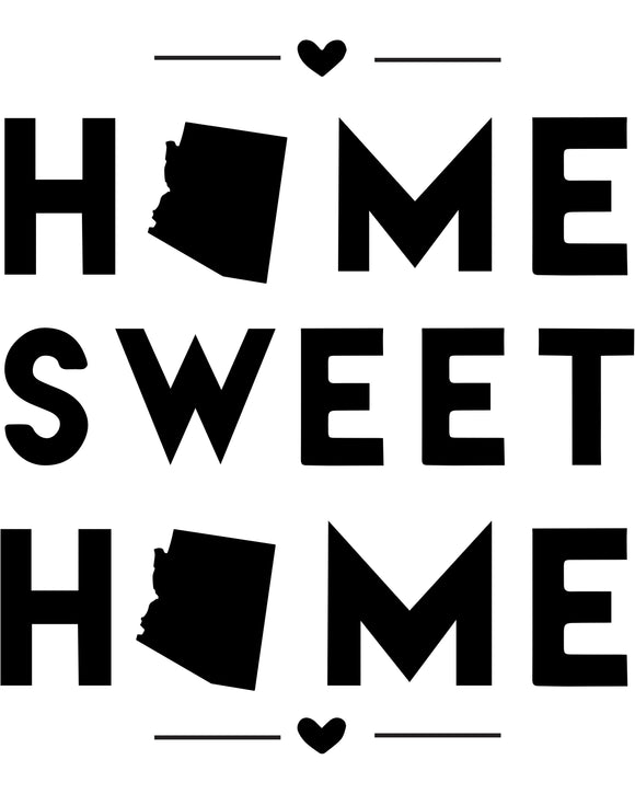 Alabama - Home Sweet Home - SVG, PNG, JPG