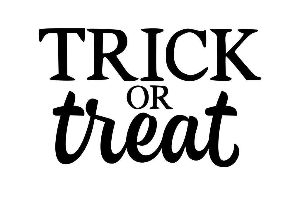 Trick or Treat - SVG, PNG, DXF