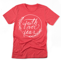 Faith Over Fear | Unisex Jersey Tee