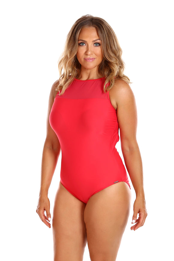 Capriosca Luxe Sport Mesh Tank, One piece, [Shop_name]