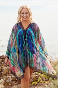 Genevieve Silk Kaftan 430, Clothing, [Shop_name]