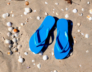 Ningaloo Blue Thongs - Bumnosed, Footwear, [Shop_name]