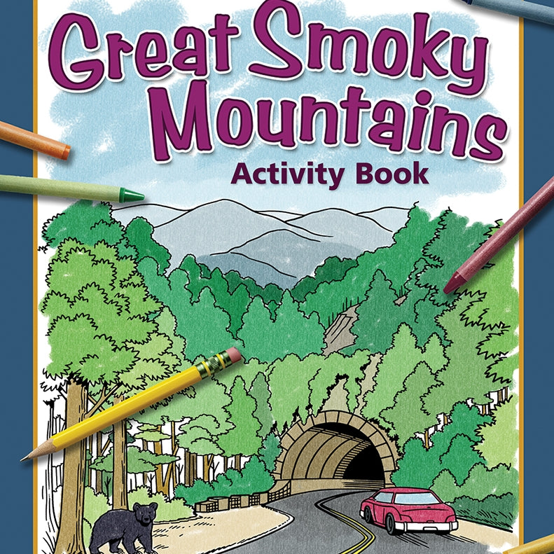 Great Smoky Mountains Activity Book