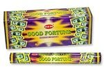 Good Fortune HEM 20 Stick Hex Tube Incense
