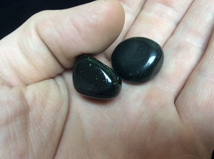 Green Goldstone Tumbled
