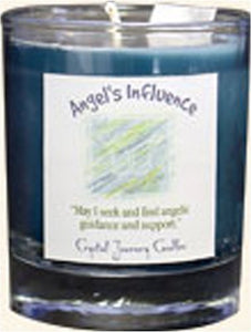 Crystal Journey Herbal Filled Votive Soy Candle