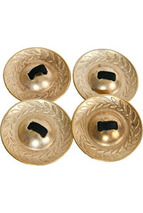 Mid East Brass Decorated Finger Cymbals