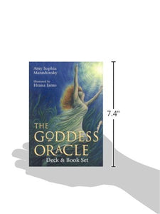 Goddess Oracle Deck Book Set