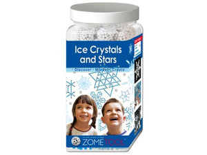 Zometool Ice Crystals Stars Science