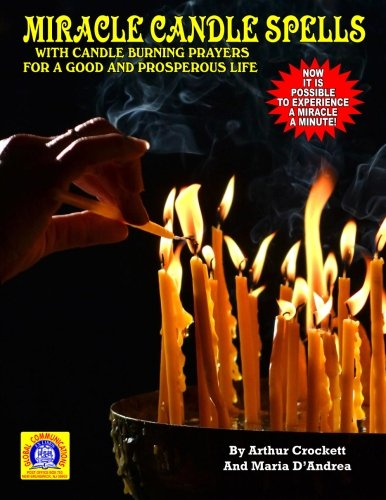 Miracle Candle Spells With Burning Prayers for a Good and Prosperous Life