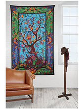Load image into Gallery viewer, Sunshine Joy Tapestry Tree of Life 3D