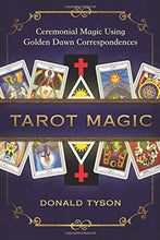 Load image into Gallery viewer, Tarot Magic Ceremonial Golden Correspondences