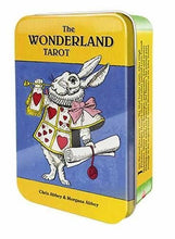 Load image into Gallery viewer, Wonderland Tarot Tin Chris Abbey