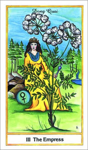 Herbal Tarot Deck Michael Tierra