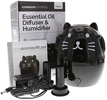 Load image into Gallery viewer, Greenair Essential Oil Diffuser Creature Comforts Black Cat