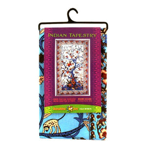 Sunshine Joy Indian Tree of Life 3D Tapestry
